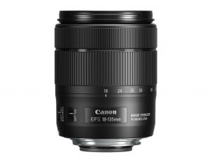 EF-S 18-135mm f3.5-5.6 IS USM Side without cap