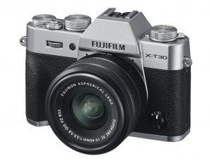 X-T30_Silver_Oblique_XC15-45mmBK